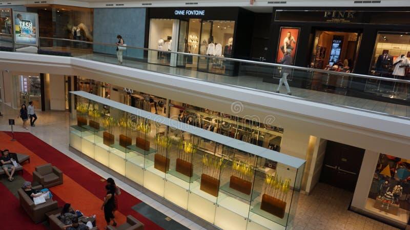 Centrum handlowe przy Krótkimi wzgórzami w Nowym - bydło obrazy royalty free