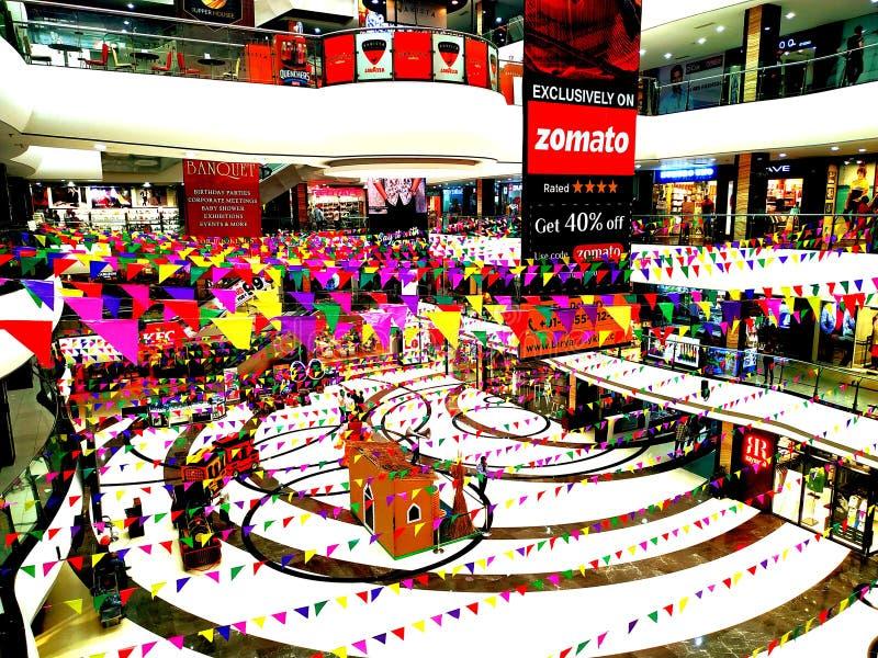 Centrum handlowego ludhiana Punjab ind akkikjha fotografia royalty free