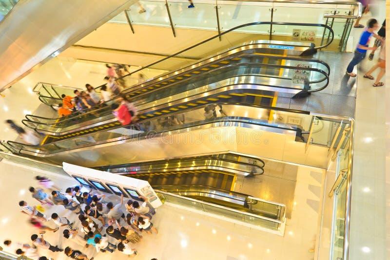 Centrum handlowego wnętrze zdjęcie royalty free