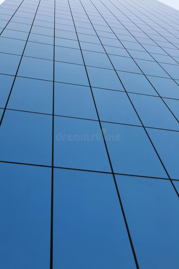 centrum interesów szklana ściana zdjęcie royalty free