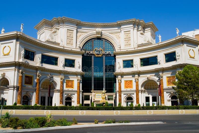centrum lasy zakupy do Vegas obraz royalty free