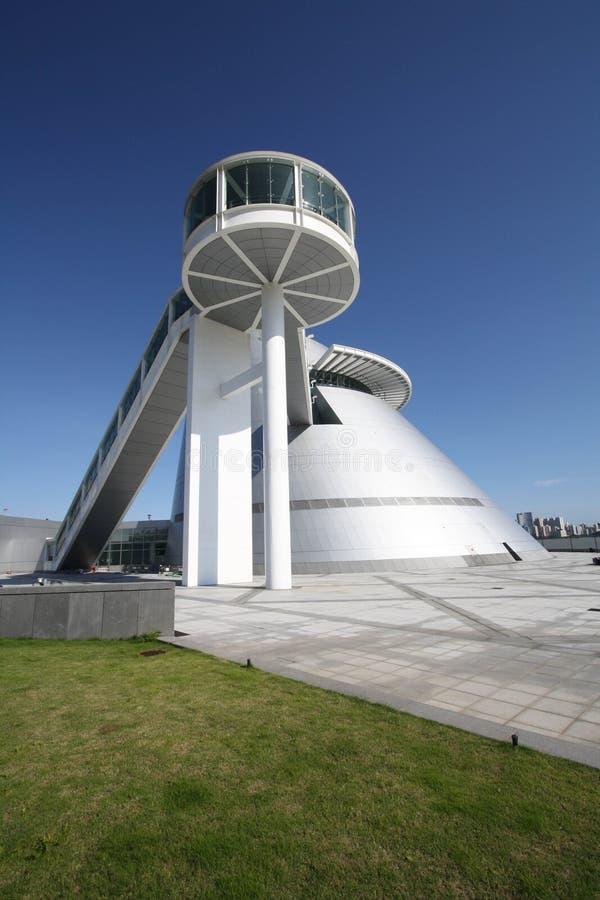centrum Macau muzealny nauki widok obraz stock