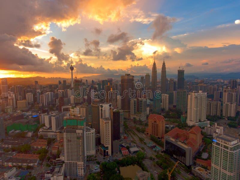 centrum miasta Kuala Lumpur zdjęcia royalty free