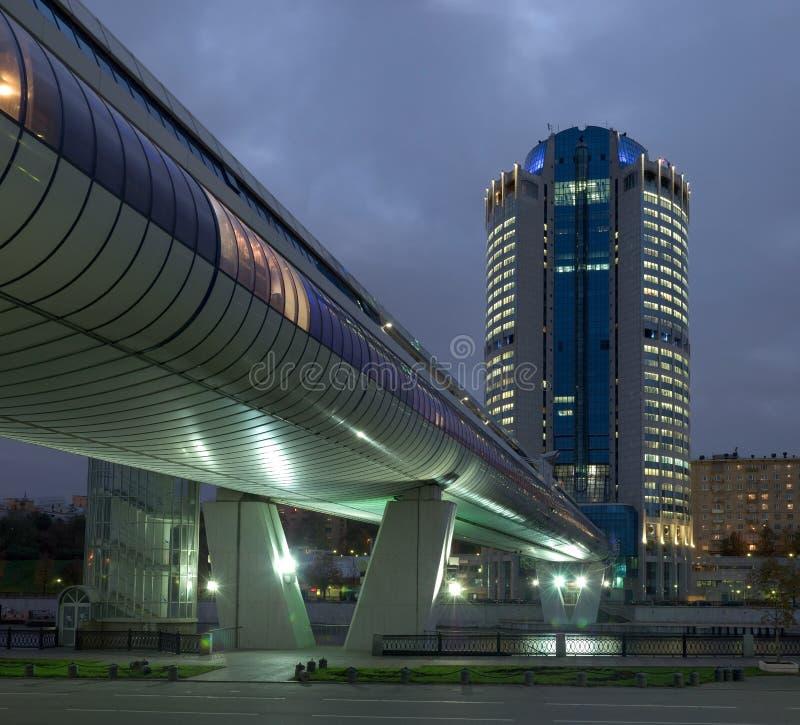 centrum miasta Moscow interesu obraz royalty free