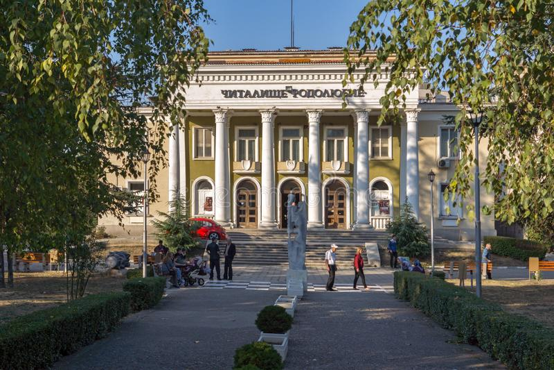 Centrum miasteczko Asenovgrad, Plovdiv region, Bułgaria obrazy royalty free