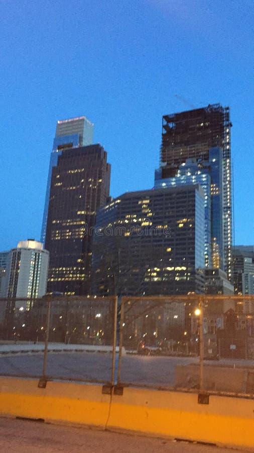 centrum miasto Philadelphia obraz royalty free