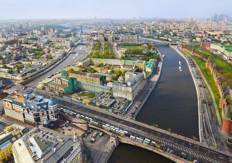 centrum Moscow Russia fotografia royalty free