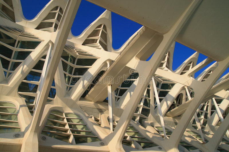 centrum nauki Valencia obrazy stock