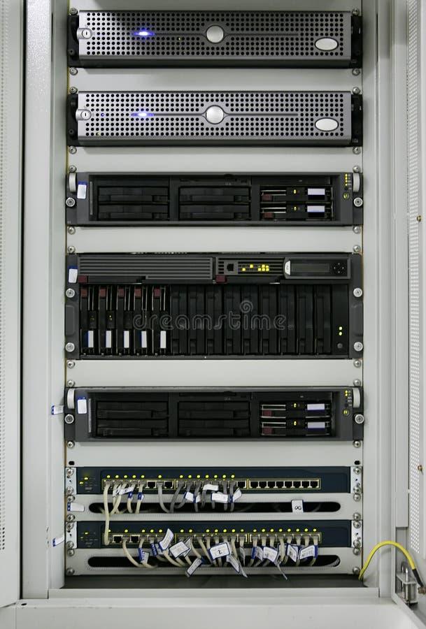 centrum serwer komunikacyjny obraz stock