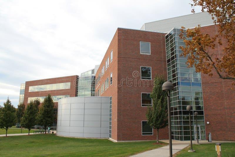 centrum szkoła wyższa nauki stan technologia Worcester obraz royalty free