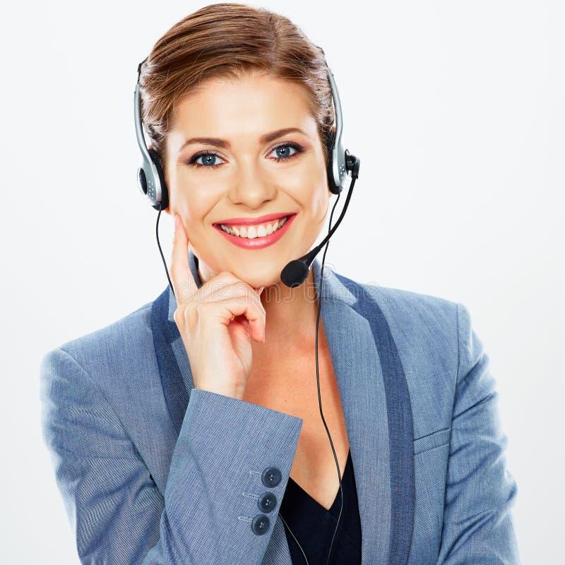 Centrum Telefoniczne Operator zdjęcie stock