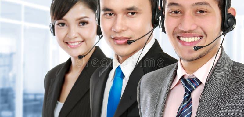 Centrum telefoniczne pracownik zdjęcia stock