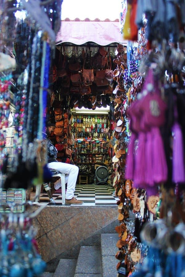 Centrum van Marrakech royalty-vrije stock afbeelding