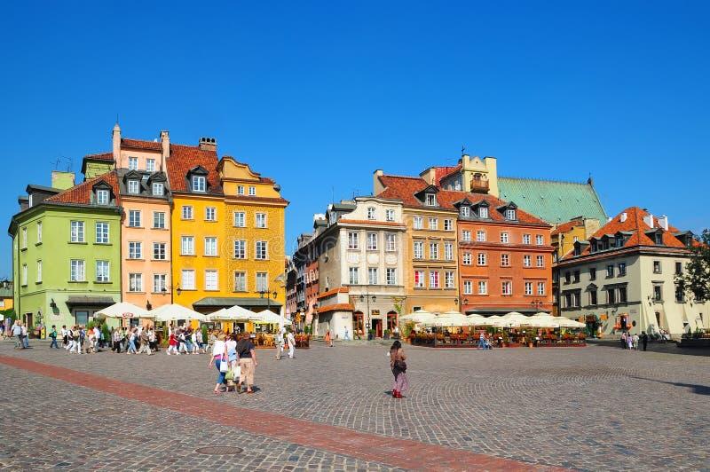 Centrum van Warshau, Polen royalty-vrije stock fotografie
