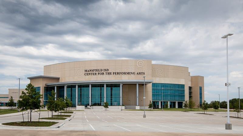 Centrum voor de Uitvoerende kunsten stock fotografie