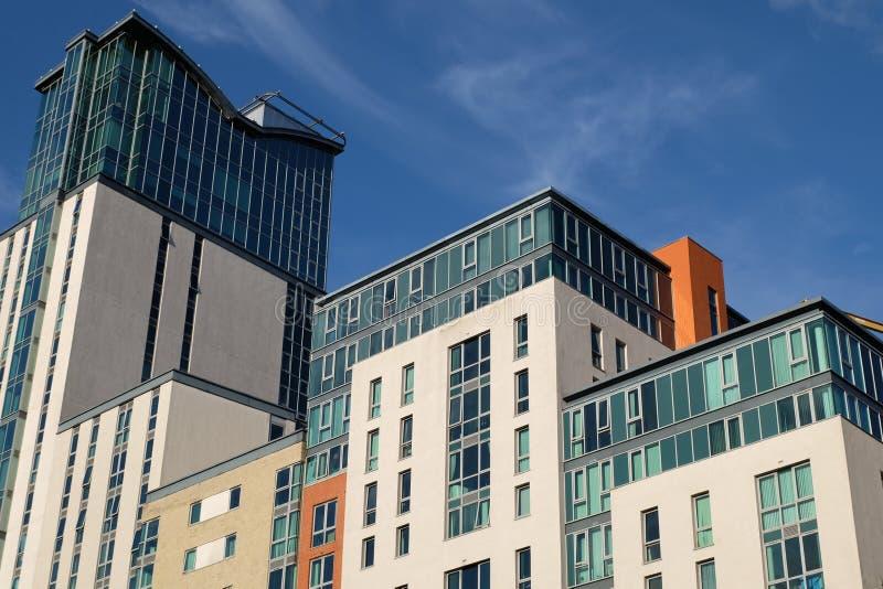 Centrumbyggnader arkivfoton
