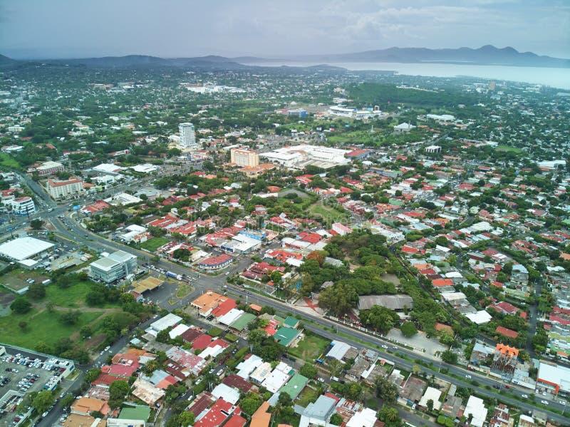Centrumstad van Nicaragua stock afbeeldingen