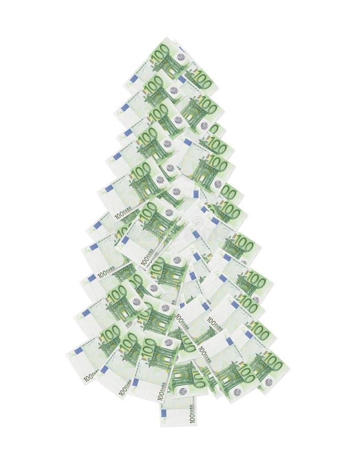 Cents arbres de Noël d euro