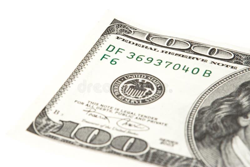Cents billets d'un dollar image libre de droits