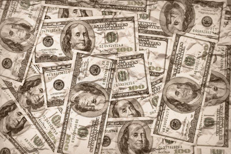 Cents billets d'un dollar photo libre de droits