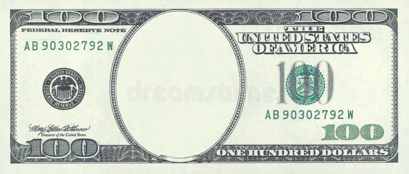 Cents blancs du dollar image stock