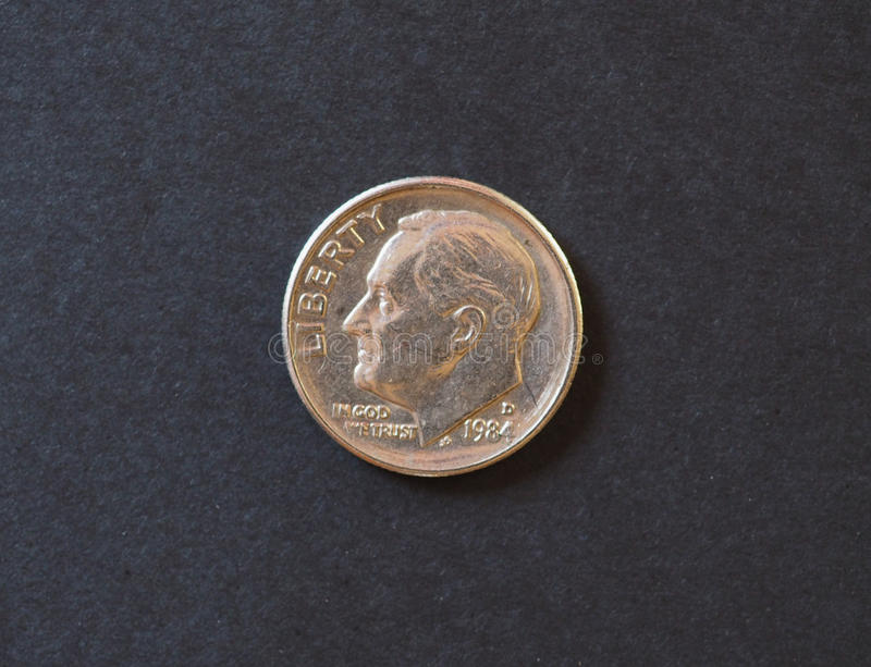 5 cents coin, Switzerland stock photography