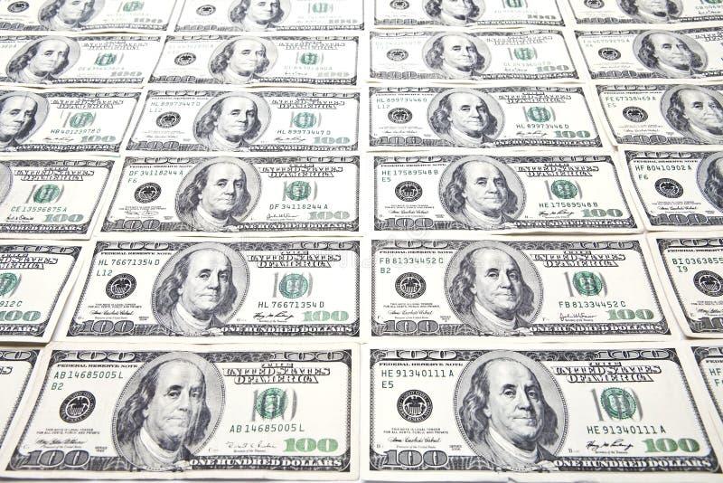 Cents fonds de billets d'un dollar photos libres de droits