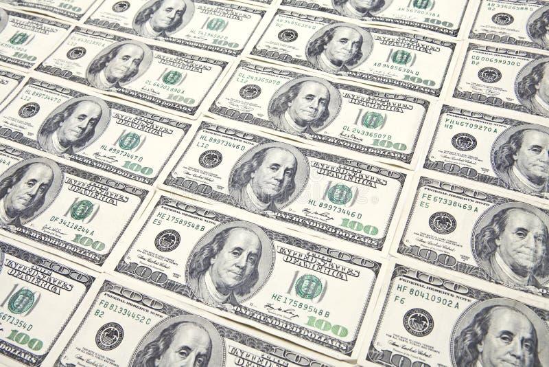 Cents fonds de billets d'un dollar image stock