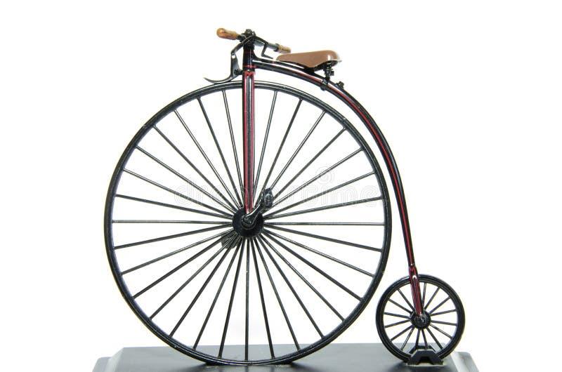 Centu Farthing Dziejowy bicykl zdjęcie stock