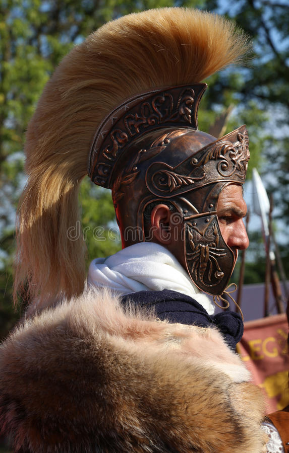 Centurión - el general de Roman Army antiguo fotografía de archivo libre de regalías