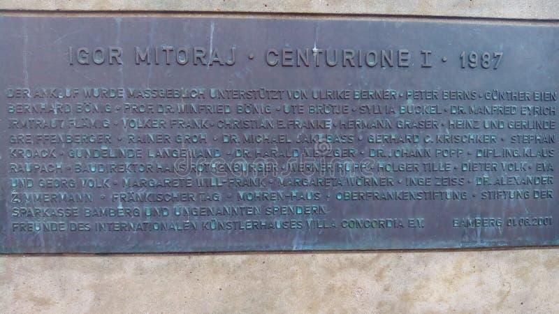 Centurion Ja obraz royalty free