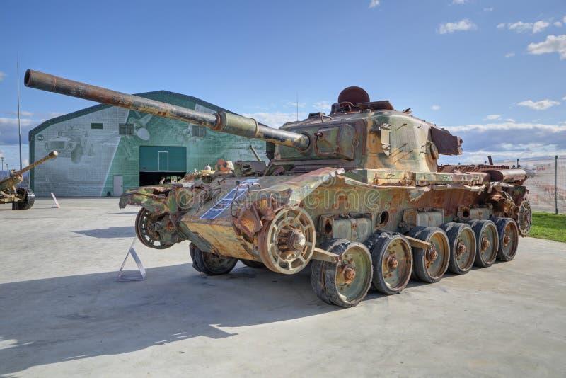 Centurion retro tank stock afbeelding