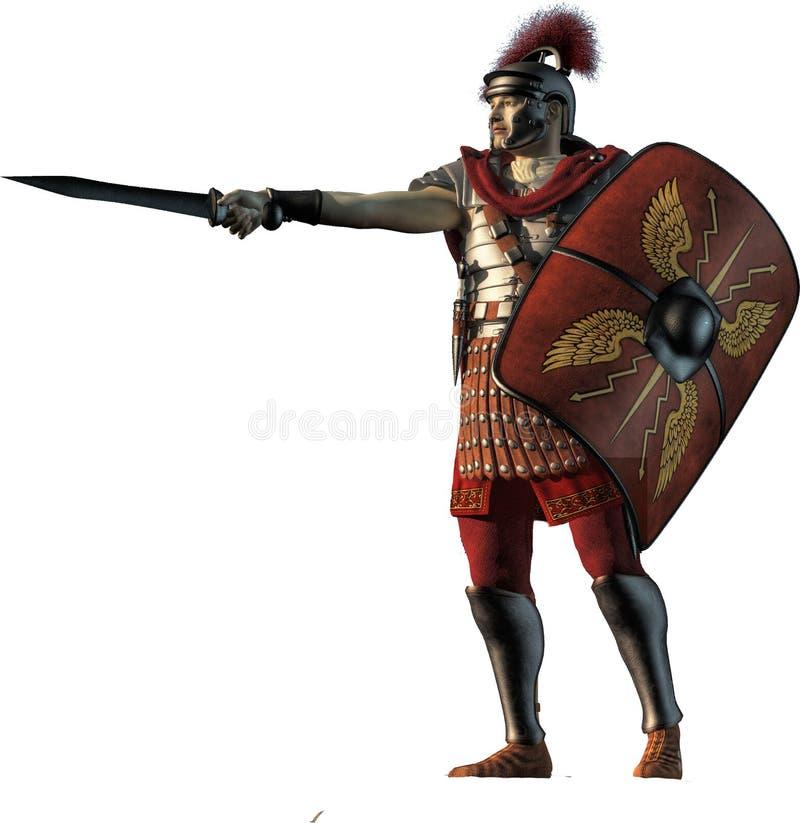 centurion stock illustratie