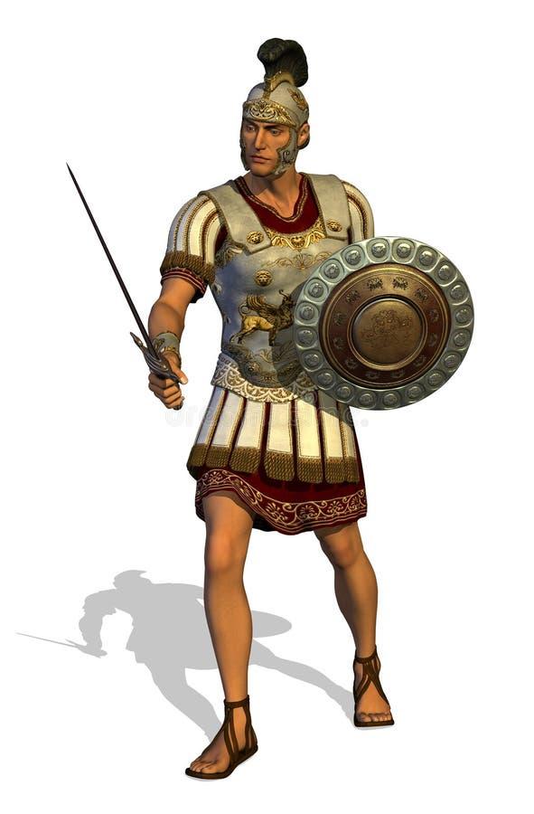 Centurion romano ilustração royalty free