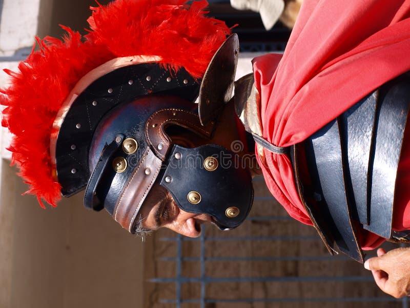 Centurion, Rome, Italië stock afbeeldingen