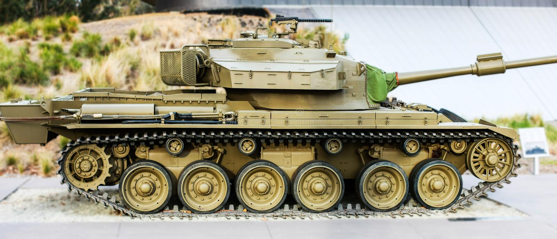Centurion Tank royalty-vrije stock afbeeldingen