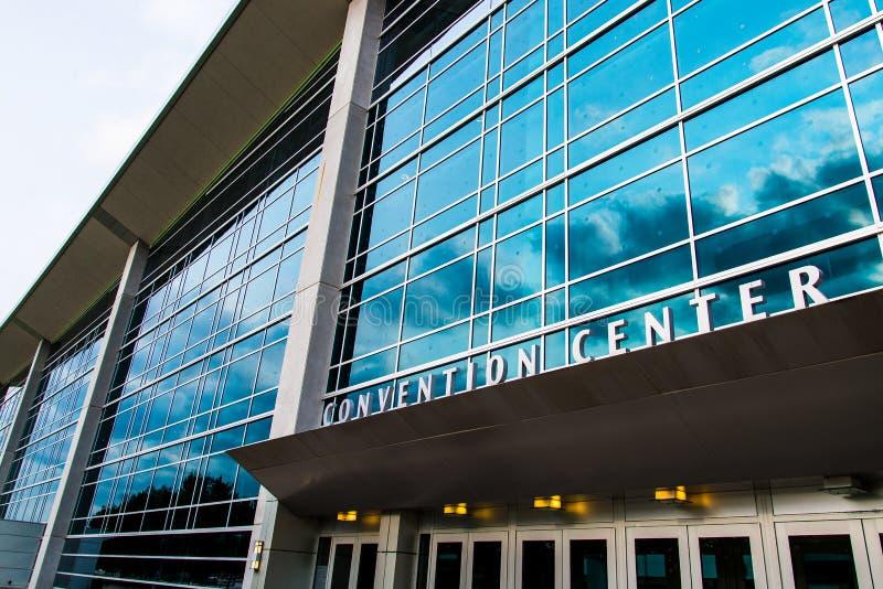 Century Link Convention Center Omaha Nebraska royalty free stock photo