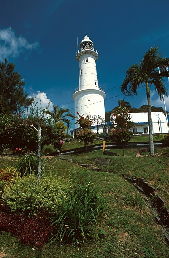 Century old lighthouse royalty free stock photo