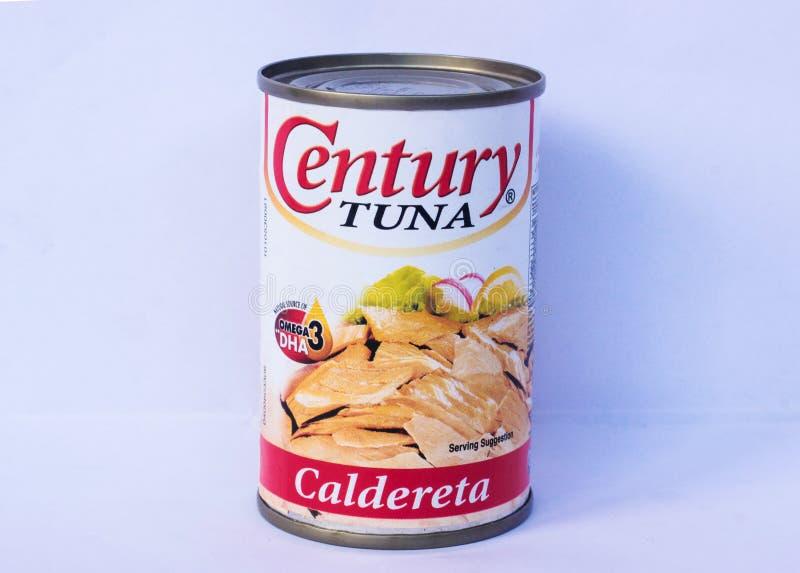 Century Tuna, Caldereta Flavor stock image