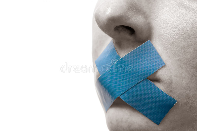 cenzurujący fotografia royalty free