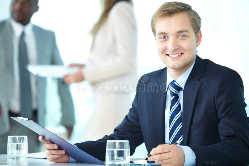CEO elegante foto de archivo libre de regalías
