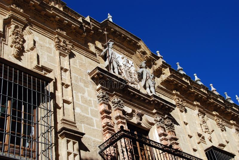 Cepeda Paleis, Osuna, Spanje. royalty-vrije stock foto's
