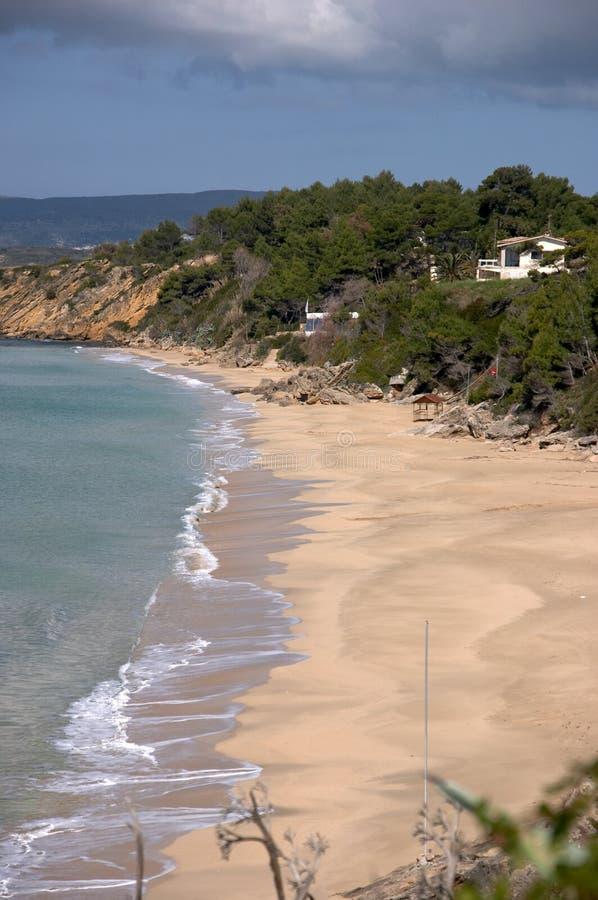 cephalonia plażowy lato fotografia royalty free
