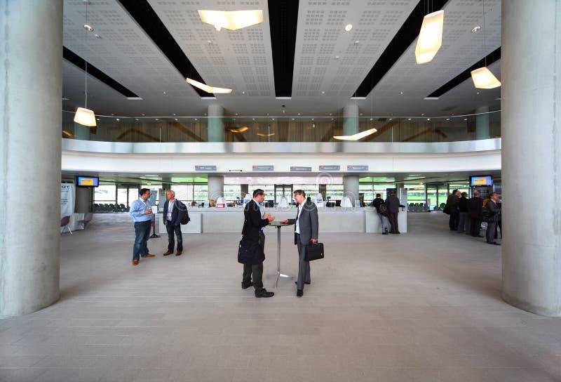 cepic国会大厅人员 免版税库存图片