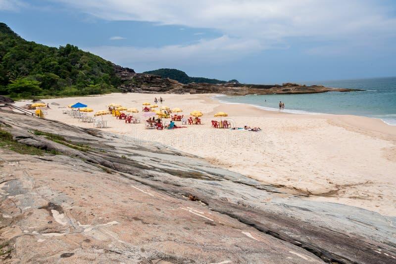 Cepilho Plażowy Rio De Janeiro Brazylia obraz royalty free