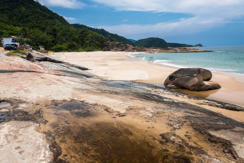 Cepilho Plażowy Trindade Rio De Janeiro obrazy stock