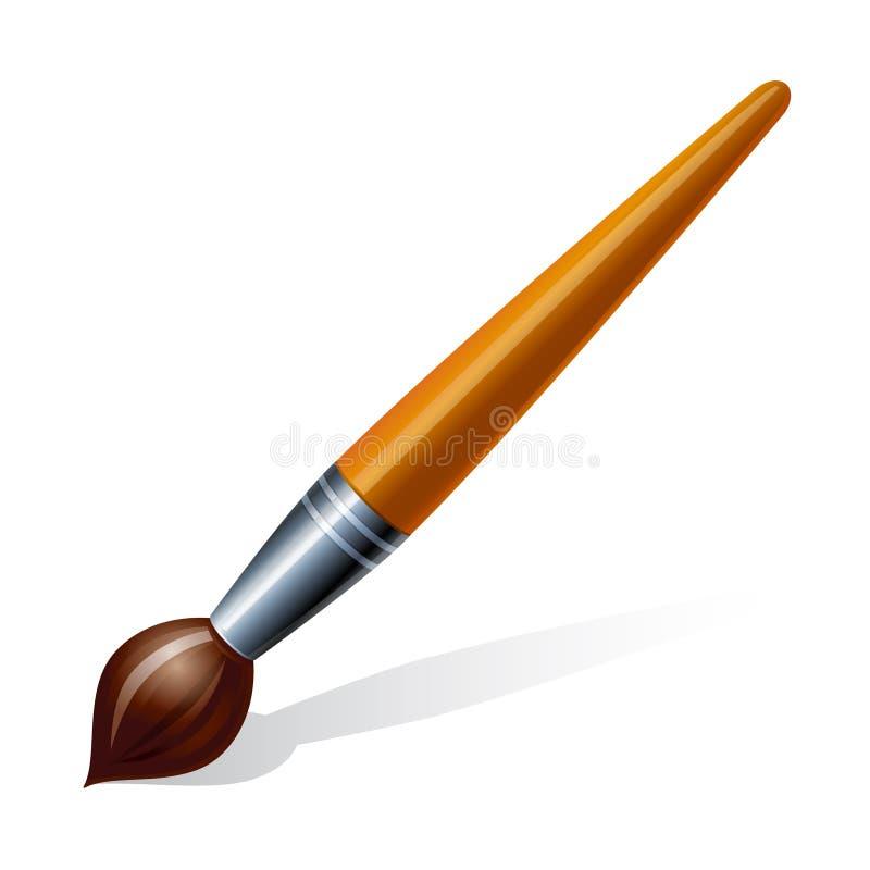 cepillo ilustración del vector