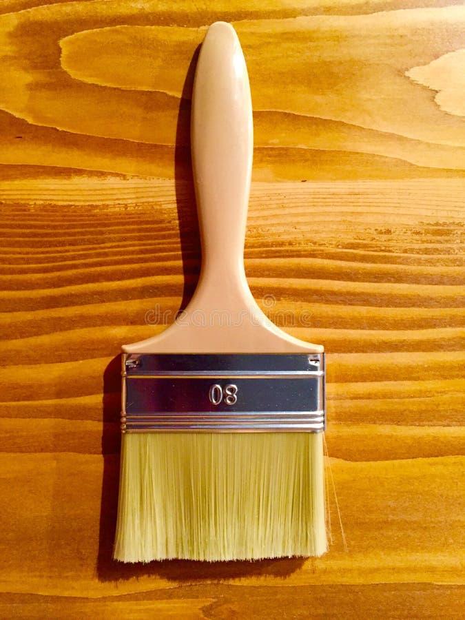 Cepillo de pintura imagen de archivo libre de regalías