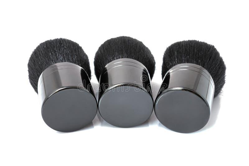 Cepillo del maquillaje aislado fotos de archivo libres de regalías