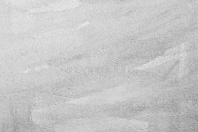Cepillos de la acuarela en la textura o el fondo de papel foto de archivo